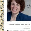 Christin Taylor Series on Homosexuality and the Bible