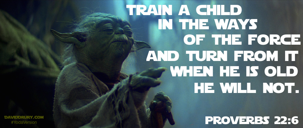 train yoda version